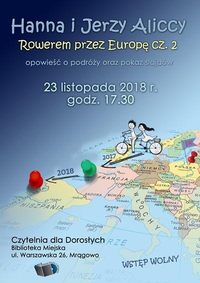 Rowerem przez Europę
