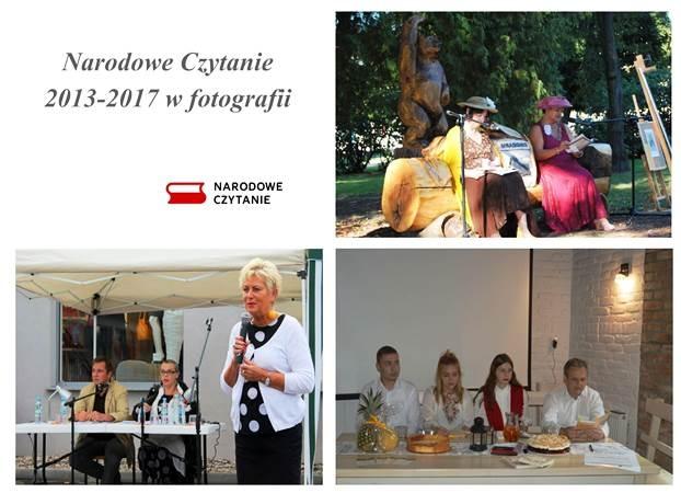 Narodowe Czytanie 2013-2017 w fotografii - wystawa