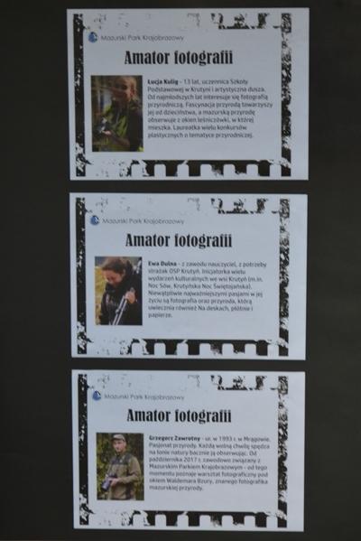 "Wystawa- ""Amator fotografii"""