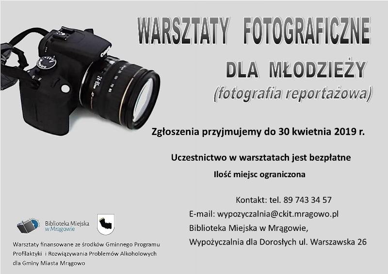Warsztaty fotografii reportażowej